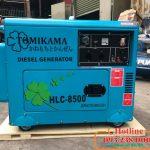 Máy phát điện chạy dầu Tomikama 7kw giá siêu ưu đãi nhất