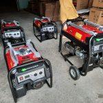 Máy phát điện chạy xăng mini Tomikama đủ công suất giá dự án tốt năm 2020