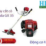 Máy cắt cỏ đeo vai Honda GX 35 – 4 thì dùng cho dự án môi trường