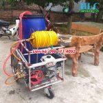 Máy phun thuốc trừ sâu công nghiệp 200L lắp động cơ xăng