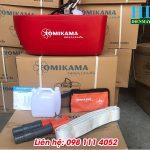 Máy bơm thuyền Tomikama 520 thả trôi áp lực phun xa 25m