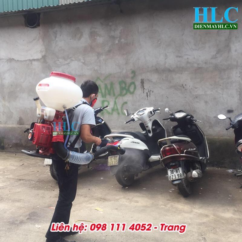 may phun thuoc phong dich Tomikama 3 Máy phun thuốc phòng dịch Tomikama giá rẻ đa năng tại Hà Nội