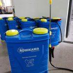 Bình phun điện Tomikama con voi xanh – thương hiệu mới năm 2020