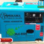 Máy phát điện Tomikama 8500 chạy dầu 7kva – giá tốt năm 2020