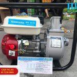 Máy bơm nước chạy xăng Tomikama HLC – 20XT bơm, hút, xả cực nhanh