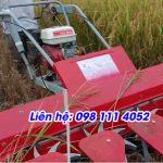Giá bán máy gặt cắt lúa xếp dãy An Giang cho bà con nông dân