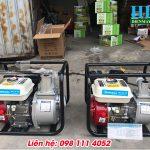 Máy bơm nước chạy xăng Hà Nội giá rẻ chính hãng bảo hành 24 tháng