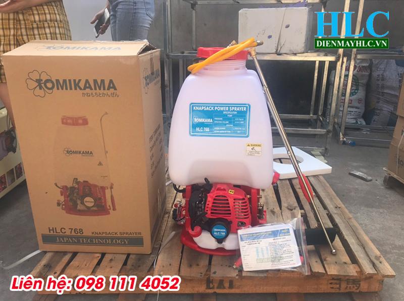 Máy phun thuốc Tomikama, máy phun thuốc đa năng khử khuẩn