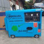 Máy phát điện chạy dầu 5kva Tomikama 6500 – báo giá tốt dự án
