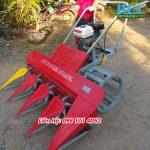 Máy gặt lúa xếp dãy mini giá rẻ phục vụ bà con trong nông nghiệp