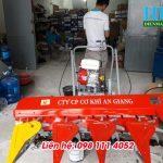 Hoàng Long bán máy gặt lúa xếp dãy mới nhất, máy cắt lúa mini