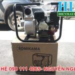 Máy bơm nước chạy xăng Tomikama HLC 30XT