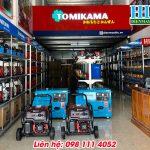Máy phát điện gia đình chính hãng giá rẻ Tomikama tại Hà Nội