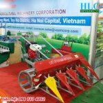 Giá máy gặt lúa xếp dãy giá rẻ, uy tín, chất lượng năng suất cao