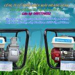 Máy bơm nước chạy xăng cho ruộng lúa giá rẻ mini bơm tưới tiêu
