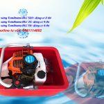 Máy bơm thuyền nổi Tomikama mini giá rẻ thả trôi dạng thuyền