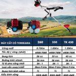 Máy cắt cỏ cầm tay Tomikama chính hãng bao giá đại lý phân phối