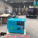 Giới thiệu máy phát điện chạy dầu diesel 5kw, chống ồn, bền đẹp